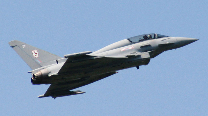 RAF Eurofighter typhoon T.1