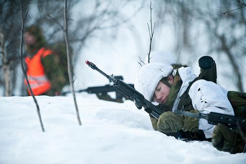 Norwegian army HK416