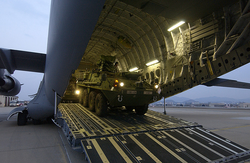 M1126 Stryker and C-17