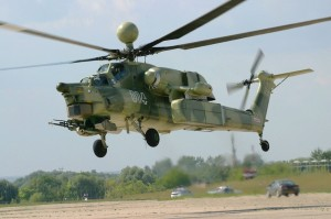 Mi-28N Night Hunter Combat Helicopter