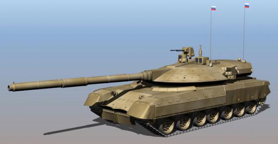 Most Modern Russian Tank