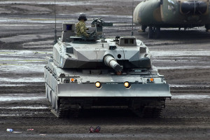 Type 10 (10式戦車 Hito-maru-shiki-sensya) Japanese main battle tank Japan Ground Self Defense Force (19)