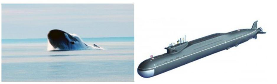 Borei class submarines