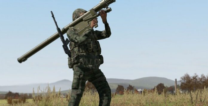 igla surface to air missile